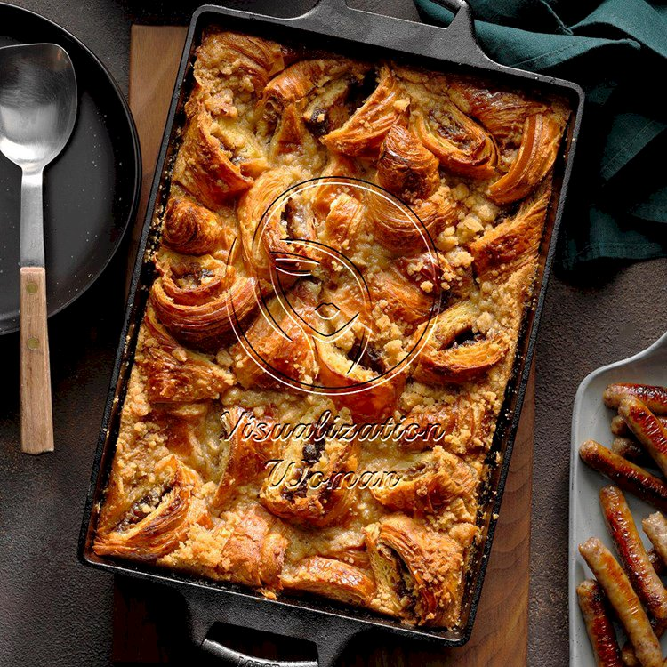Apple Butter Bread Pudding